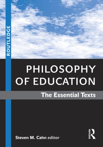 Philosophy of Education The Essential Texts  2009 edition cover