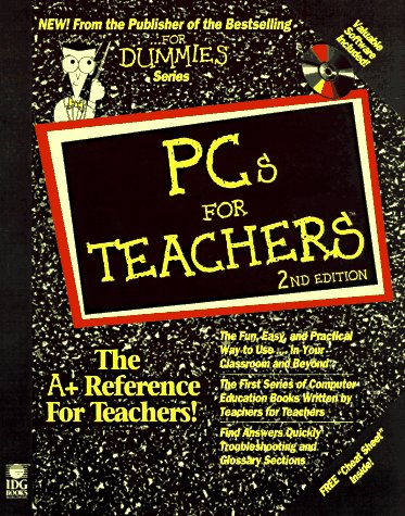 PCs for Teachers 2nd 1997 9780764502408 Front Cover