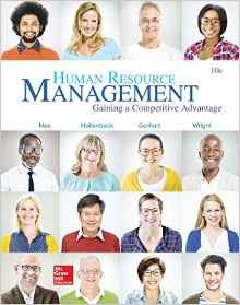 HUMAN RESOURCE MANAGEMENT (LOOSELEAF)   N/A 9781259908408 Front Cover