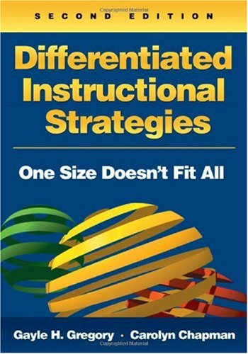 Differentiated Instructional Strategies One Size Doesn't Fit All 2nd 2007 (Revised) edition cover