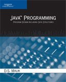 Java Programming Program Design Including Data Structures  2006 edition cover
