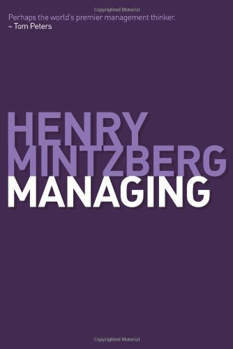 Managing   2009 edition cover