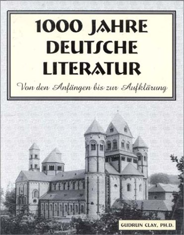 1,000 Years of German Literature   2002 edition cover