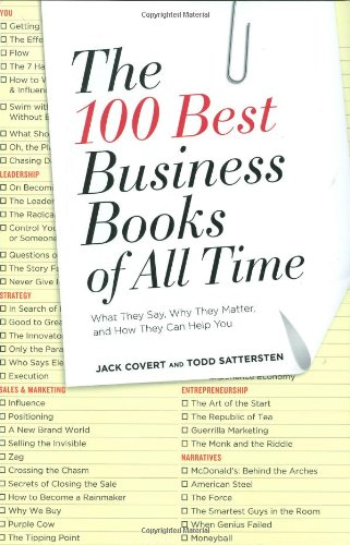 100 Best Business Books of All Time What They Say, Why They Matter, and How They Can Help You  2009 edition cover