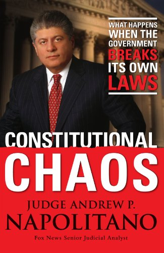 Constitutional Chaos What Happens When the Government Breaks Its Own Laws  2006 edition cover