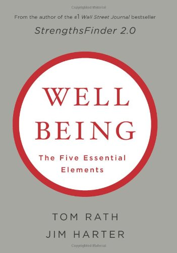 Wellbeing The Five Essential Elements  2010 edition cover