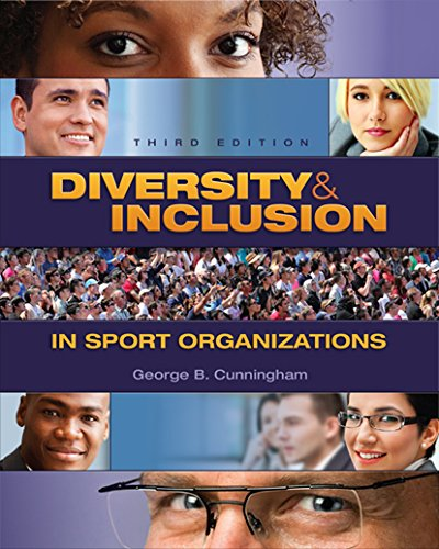 Diversity and Inclusion in Sport Organizations:   2015 edition cover