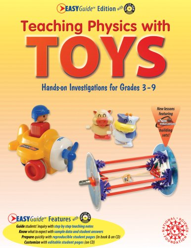 Teaching Physics with TOYS, EASYGuide Edition   2005 9781883822408 Front Cover