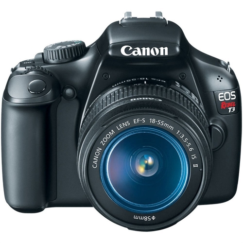 Canon EOS Rebel T3 Digital SLR Camera with EF-S 18-55mm f/3.5-5.6 IS Lens (discontinued by manufacturer) product image