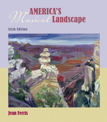America's Musical Landscape  6th 2010 edition cover