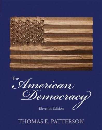 American Democracy  11th 2013 edition cover