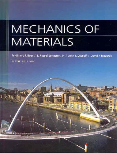 Mechanics of Materials  5th 2009 edition cover