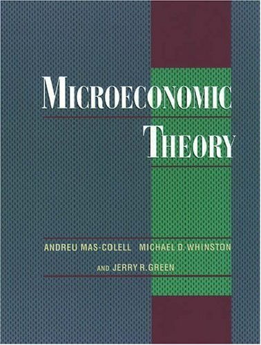Microeconomic Theory   1995 edition cover
