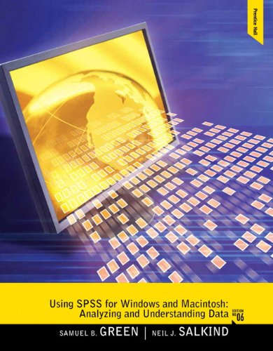 Using SPSS for Windows and Macintosh Analyzing and Understanding Data 6th 2011 edition cover