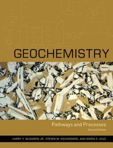 Geochemistry Pathways and Processes 2nd 2003 edition cover