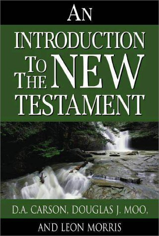 Introduction to the New Testament   1992 9780310519409 Front Cover