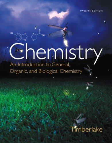 Chemistry, Masteringchemistry With Pearson Etext Standalone Access Card: An Introduction to General, Organic, & Biological Chemistry  2014 edition cover