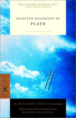 Selected Dialogues of Plato The Benjamin Jowett Translation  2001 edition cover