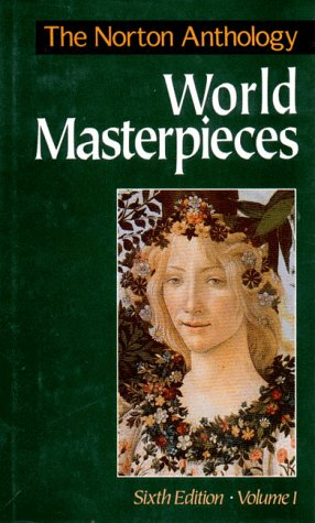 Norton Anthology of World Masterpieces  6th edition cover