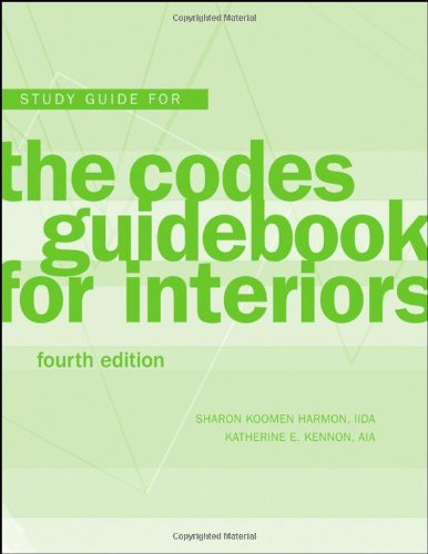Codes Guidebook for Interiors  4th 2008 (Student Manual, Study Guide, etc.) edition cover