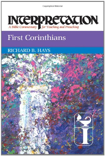First Corinthians  N/A edition cover