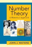 Number Theory A Historical Approach  2014 edition cover