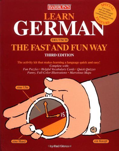 Learn German the Fast and Fun Way  3rd 2004 edition cover
