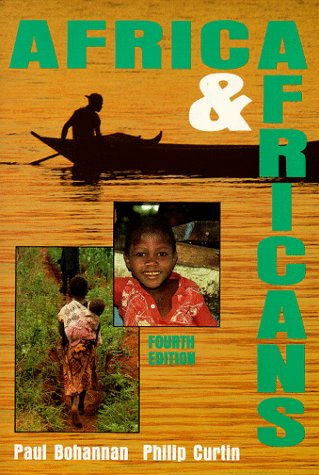 Africa and Africans  4th 1995 (Revised) edition cover
