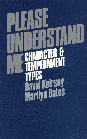 Please Understand Me Character and Temperament Types 5th 1984 9780960695409 Front Cover