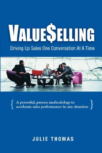 ValueSelling Driving Sales up One Conversation at A Time  2006 edition cover