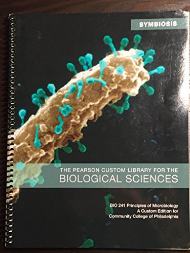 PRIN.OF MICROBIOLOGY:BIO 241 > N/A 9781269236409 Front Cover