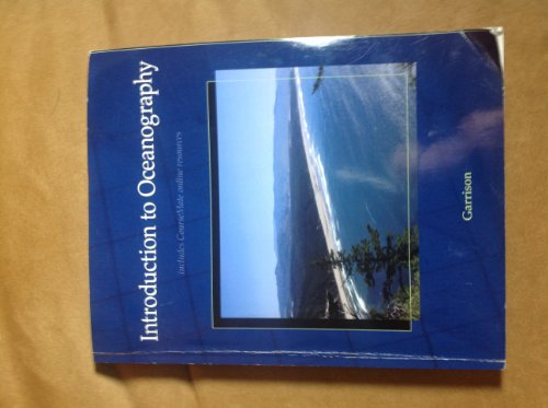 INTRODUCTION TO OCEANOGRAPHY >CUSTOM<   N/A 9781285120409 Front Cover