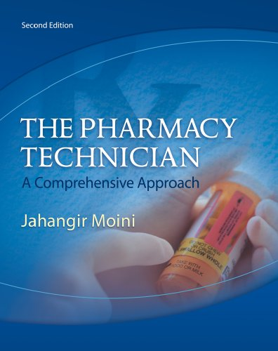 Pharmacy Technician A Comprehensive Approach 2nd 2011 (Workbook) edition cover
