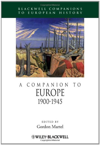 Companion to Europe, 1900-1945   2011 9781444338409 Front Cover