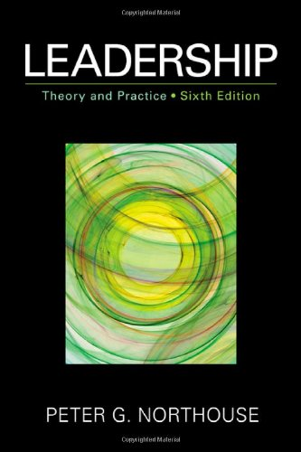 Leadership Theory and Practice 6th 2013 9781452203409 Front Cover