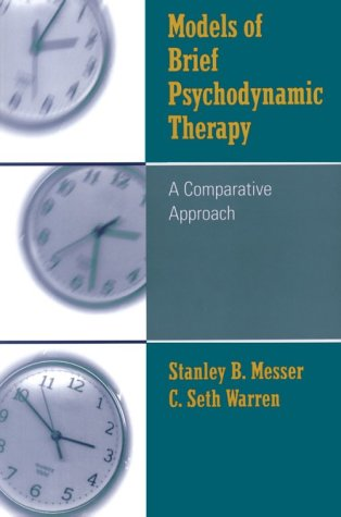 Models of Brief Psychodynamic Therapy A Comparative Approach  1995 edition cover