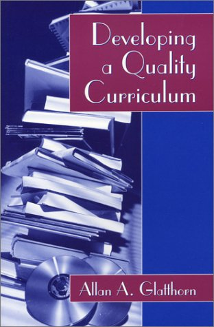 Developing a Quality Curriculum   1994 edition cover