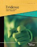 Black Letter Outline on Evidence  4th 2015 9781628101409 Front Cover