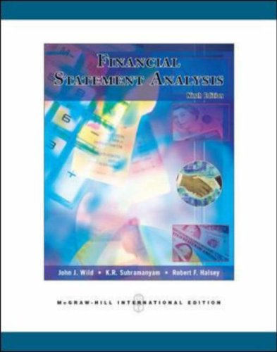 Financial Statement Analysis N/A edition cover
