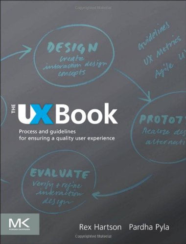 UX Book Process and Guidelines for Ensuring a Quality User Experience  2012 edition cover