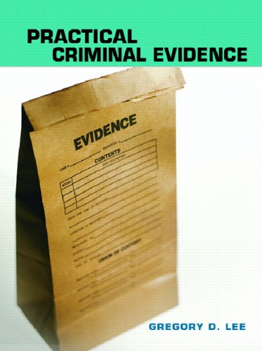 Practical Criminal Evidence   2007 edition cover