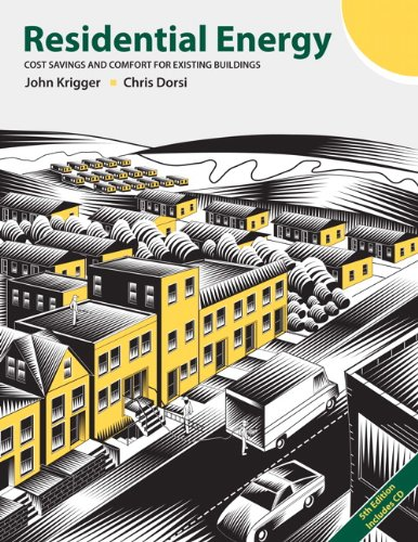 Residential Energy Cost Savings and Comfort for Existing Buildings 5th 2009 edition cover