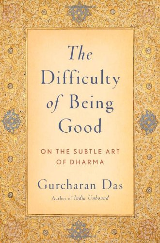 Difficulty of Being Good On the Subtle Art of Dharma  2010 edition cover