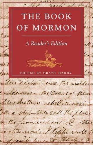 Book of Mormon A Reader's Edition  2006 edition cover