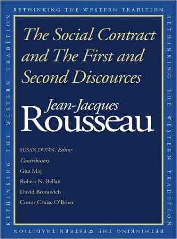 Social Contract and the First and Second Discourses   2002 edition cover