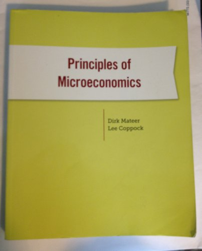 PRINCIPLES OF MICROECONOMICS >PREVIEW<  N/A edition cover