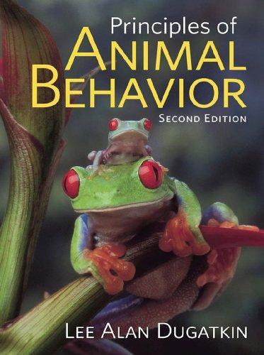 Principles of Animal Behavior  2nd 2009 edition cover