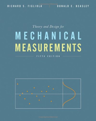Theory and Design for Mechanical Measurements  5th 2011 edition cover