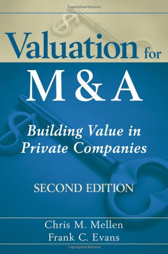 Valuation for M and A Building Value in Private Companies 2nd 2010 9780470604410 Front Cover
