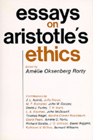 Essays on Aristotle's Ethics   1980 edition cover